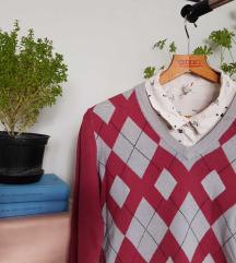 Backtee џемпер + Berska кошула комплет