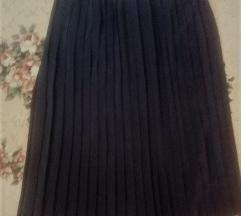 Plise suknja nova