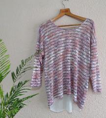 Блуза - со дезен на грб