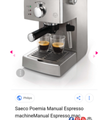 PHILIPS SAECO coffe maker 60% PONISKA CENA