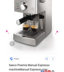 PHILIPS SAECO coffe maker 60% PONISKA CENA