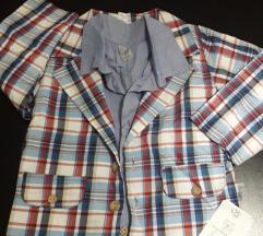 НОВО Сако и кошула за 24 месеци -со етикет SanBebe