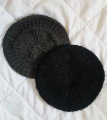НОВИ беретки - сива и црна