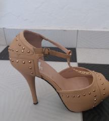 Novi 4Ever kremasti sandali