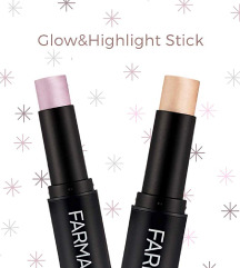 Glow and highlighter во стик