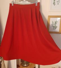 Нова црвена глог сукња