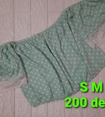 Novi pamucni bluzi dostapni S M L  velicini