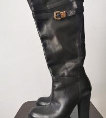 Италијански високи кожени чизми