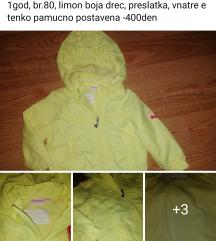 Nova jaknicka do 1god