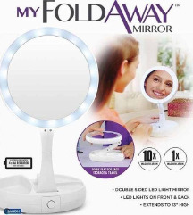 Огледало со LED светла