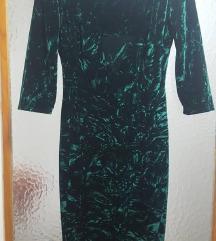 НОВ велвет фустан со ЕТИКЕТА