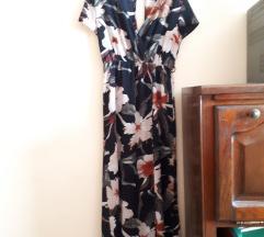 Долг летен шарен фустан