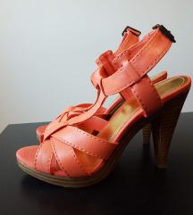 H&M кајсија боја yникатни сандали еднаш носени