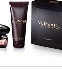 Original Versace crystal noir set
