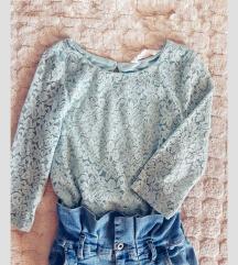 Блуза чипкана H&M