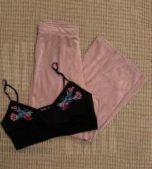 Bershka Панталони и топ