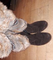 антилоп високи чизми со крзно