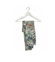 Tropical-Print Jeans