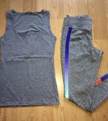 Спортски комплет- маичка и хеланки