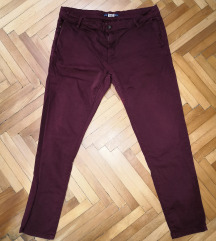 Pull&Bear бордо панталони