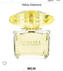 Original versace yellow diamond 100ml