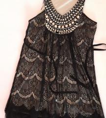 кратко црно фустанче