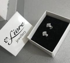 Сребрени Fiore обетки