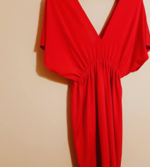 Crven svecen fustan