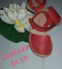 Kozni sandalki za devojcence br.22
