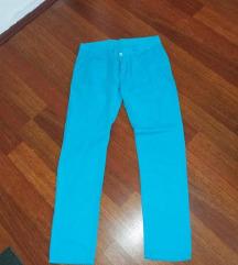 Novi tirkizni pantoloni M-L