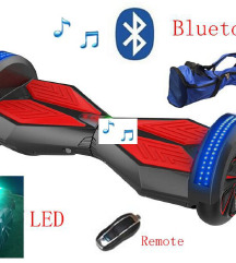 Hoverboard lad, bluetooth 8 inchi