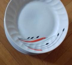 10 Novi porcelanski dekorativni cinii 19,5cm