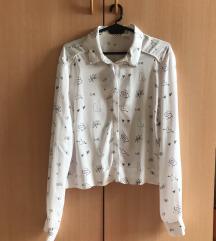 Bershka кошула со принт