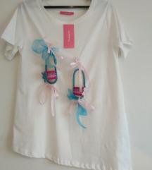 Rachno izrabotena maica 3D Hanging slippers