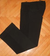 %%% Crni kvalitetni pantaloni vel S - 250 den