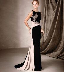 Asimetricen dizajnerski fustan
