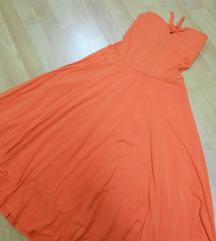 Zara koralen fustan
