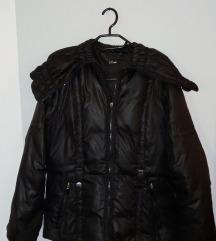 *1000*Crna zimska jakna OLTRE br.L Popust%%%