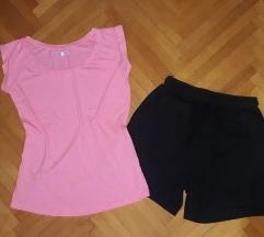 REZZ**BERSHKA Neon pink+Teranova sorc **vel S/M