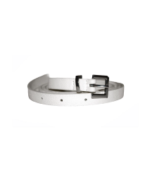 Thin belt [white]