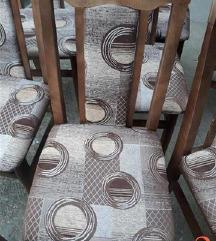 Baram 4 trepezariski stolici