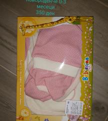 Set za novorodence 0-3 m