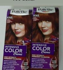 Palette farba za kosa