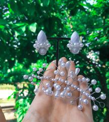Handmade bride jewelry