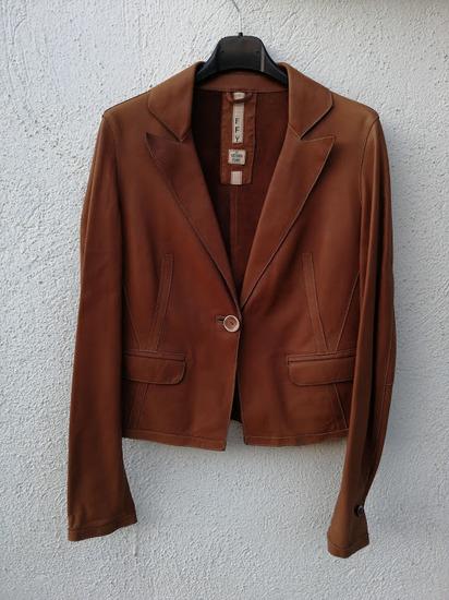 Vittorio Forti ново кожно сако/јакна