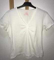 Бела памучна маица