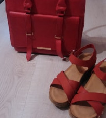 sandalki i canta za  600 den