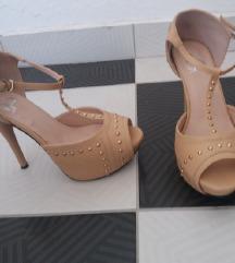Novi 4EVER kremasti sandali 39