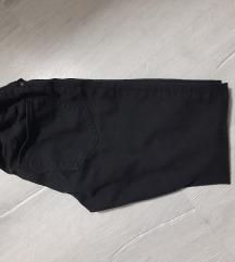Zara girls crni pantaloni