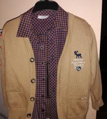 Комплет кошула и џемперче за момче вел. 104